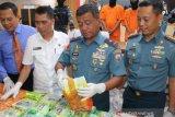 Lanal Palembang tingkatkan patroli perairan  Sumsel-Jambi