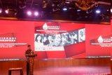 Mantan Wakil Presiden Jusuf Kalla minta generasi muda pikirannya jangan simbolis