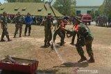 Kodim Kendari melatih Babinsa antisipasi penanganan karhutla