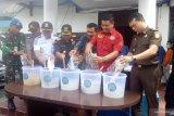 BNNP Kaltara musnahkan 5.058 gram sabu