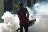 Antisipasi DBD, Dinkes Waykanan lakukan pengasapan ke rumah warga