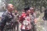 Wali Kota Bandarlampung tinjau lokasi kebakaran lahan