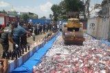 Bea Cukai musnahkan barang ilegal senilai Rp7 miliar