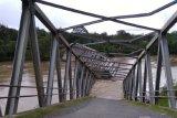 Sebuah Jembatan di Aceh Barat ambruk diterjang banjir