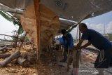 Kesulitan bahan pembuatan kapal ikan
