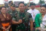 Kasad Jenderal TNI Andika Perkasa nilai Kapolri baru eratkan hubungan TNI-Polri