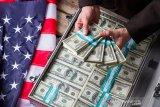 Dolar AS melemah karena investor kurang tertarik atas aset berisiko