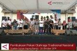 VIDEO : Pembukaan Pekan Olahraga Tradisional Nasional di Bantul