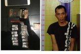 Lagi asyik nikmati sabu di rumah, Azi Bagas diringkus polisi