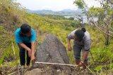 Arkeolog temukan papan batu megalitik dan menhir di Jayapura