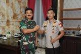 Kapolri kunjungan perdana ke Panglima TNI