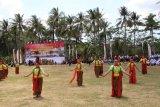 Tarian Megat Megot meriahkan upacara penutupan TMMD