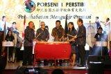 Belasan Sekolah Tiga Bahasa mengikuti Porseni I Perstibi di Yogyakarta