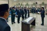 Mutasi jabatan kembali terjadi di Pemkab Pulpis, sejumlah kepala dinas dilantik