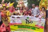 Lutim tampilkan aneka pakaian adat pada Karnaval Budaya Expo Sulsel