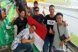 Warga Muara Teweh melihat langsung kecelakaan pebalap Indonesia di Sirkuit Sepang