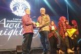 LKBN ANTARA  meraih penghargaan dari UI