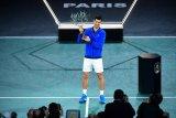 Djokovic juara Paris Masters kelima kalinya usai kalahkan petenis muda Kanada