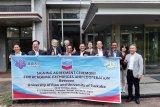 Program Kemitraan PT CPI dengan universitas, Unri ke Jepang, Mahasiswa UIR ke tiga negara