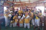 Ketua KONI Lampung berikan uang tali asih untuk atlet kempo