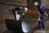 KS berhasil pecahkan rekor untuk produksi baja lembar panas 203 ribu ton lebih