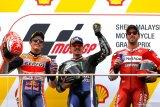 Hasil GP Malaysia, Vinales menang telak atas  Marquez