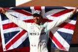 Hamilton mengunci gelar juara dunia F1 keenam kali