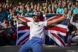 Gelar juara dunia F1 keenam tak buat Hamilton jemawa