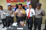 Polisi Kediri tahan dua pengedar narkotika sabu-sabu
