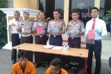 Polres Ogan Komering Ulu ringkus  dua bandar narkoba
