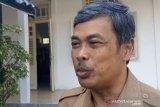 BPBD Gunung Kidul mengecek alat peringatan dini di tanah longsor