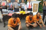 Polisi ungkap kasus  rekayasa perampokan Alfamart
