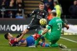 Liga Inggris -- Leicester kembali ke peringkat tiga usai tekuk Crystal Palace 2-0