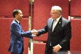 Jokowi bahas ratifikasi IA-CEPA di Australia