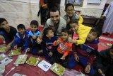GHR-ACT salurkan makanan siap santap  bagi pengungsi Palestina