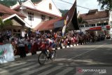 Cristian Reaileanu jadi yang tercepat pada etape IV Tour de Singkarak 2019