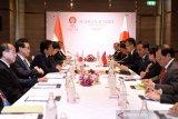 Bertemu di KTT ke-35 ASEAN, Jepang nyatakan dukung prioritas program pembangunan Jokowi