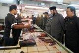 Anggota DPRD Sumbar dan Pemkot tinjau Pasar Pusat Padang Panjang