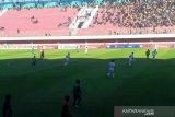 Laga tim tuan rumah PSS Sleman kontra Bali United berakhir imbang 0-0