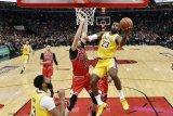 Lakers taklukan tuan rumah Chicago Bulls