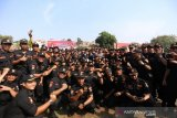 Ribuan anggota Senkom Mitra Polri ikuti pelatihan bela negara