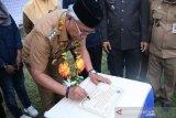 Bupati Lutim resmikan Pamsimas III Desa Kasintuwu