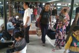 Batalkan belasan penerbangan, penumpang Sriwijaya Air terlantar