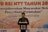 REI NTT targetkan bangun 15.000 unit rumah