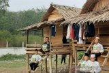 ACT Sumsel salurkan satu ton beras ke  pondok pesantren beratap nipah