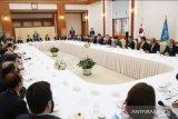 Presiden Korsel   terima delegasi Sidang Umum OANA dan Dirpem ANTARA