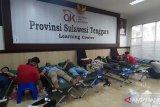 Peringati HUT, OJK Sultra Sumbang 148 Kantong Darah