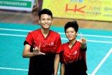Ganda campuran bulu tangkis Lampung gagal raih medali emas
