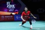 Ditaklukkan Antonsen, Jonatan gagal ke semifinal Fuzhou China Open