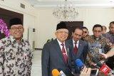 Wapres Maruf Amin akui mendengar kabar terkait Antasari jadi Dewas KPK